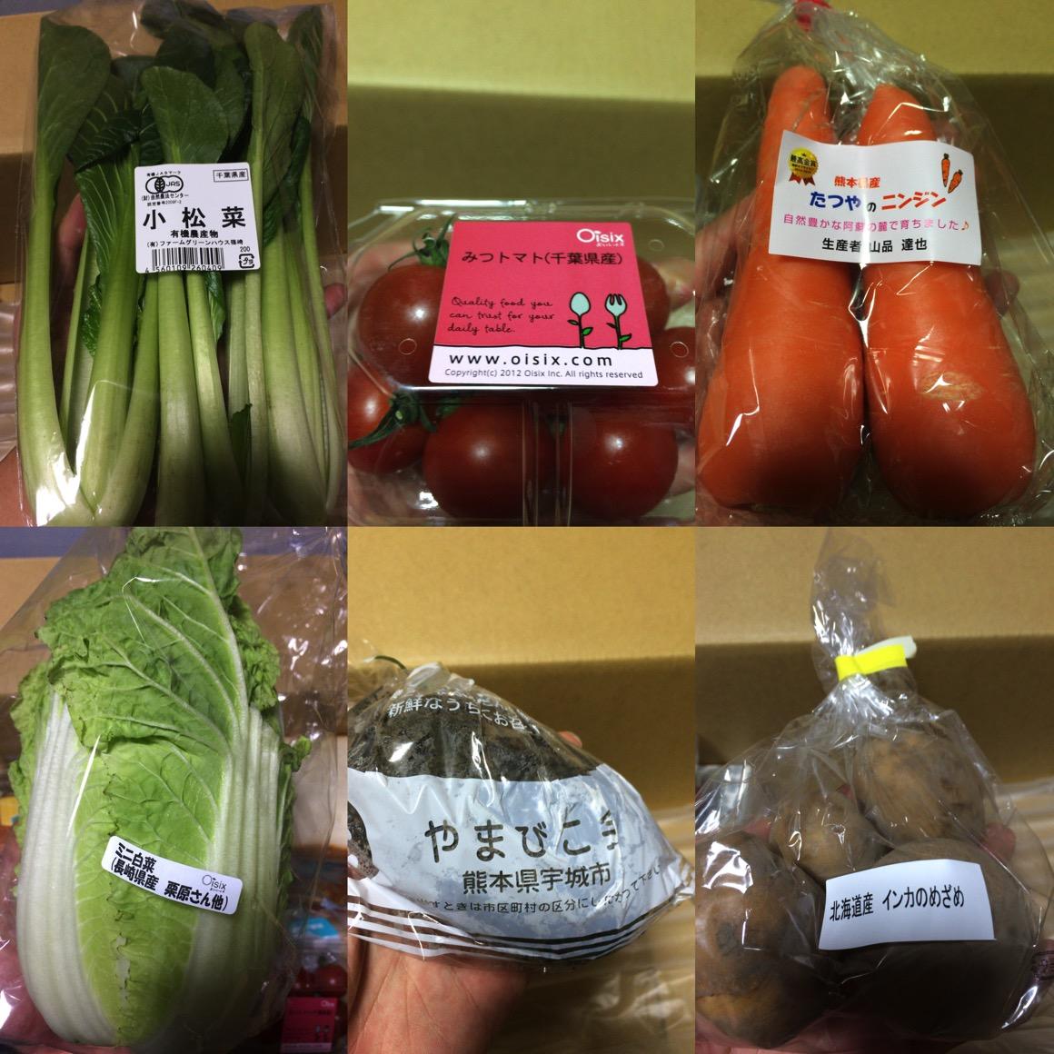 オイシックスお試しセット野菜