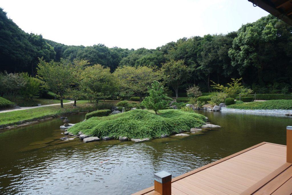 芦屋日本庭園