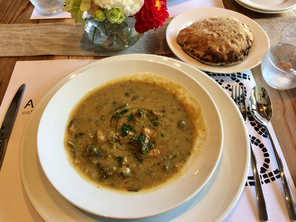 アプテカフレーゴランチスープ